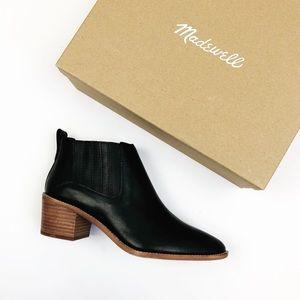 Madewell NWT The Bonham Boot Black Bootie Size 9